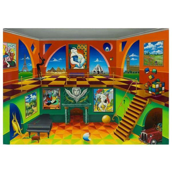 "Alexander Astahov ""Rubik Cube"" Limited Edition Giclee On Canvas"