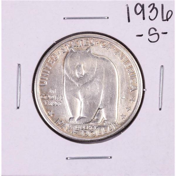 1936-S Bay Bridge Commemorative Half Dollar Coin
