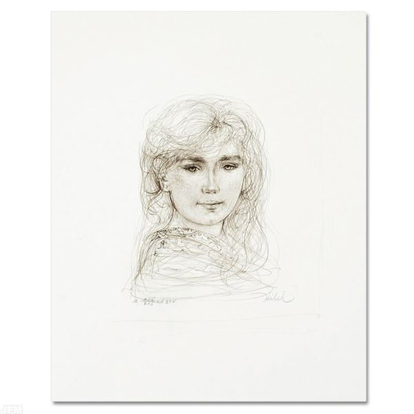"Hibel (1917-2014) ""Inga"" Limited Edition Lithograph On Paper"