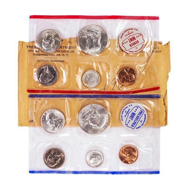 1961 P & D U.S. Mint (10) Coin Set