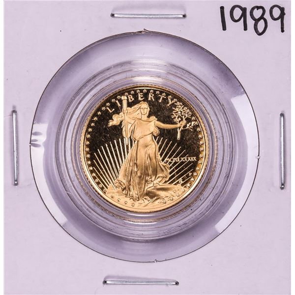 1989 $10 Proof American Gold Eagle