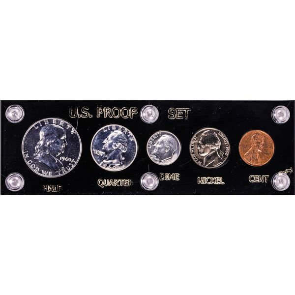1960 Small Date (5) Coin Proof Set