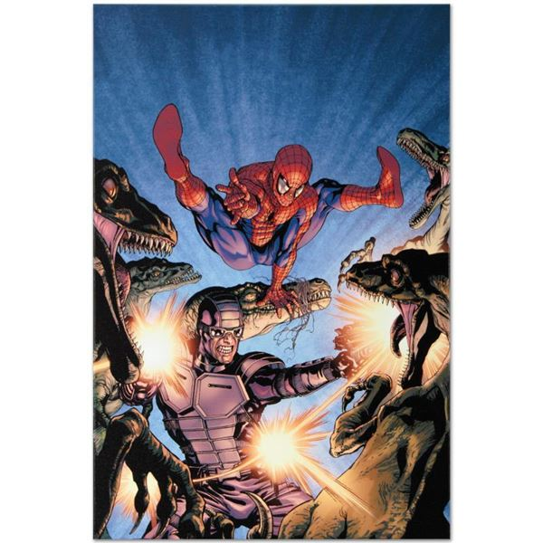 """Marvel Comics """"Heroes For Hire #7"""" Limited Edition Giclee On Canvas"""