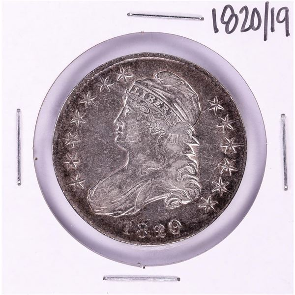 1820/19 Capped Bust Half Dollar Coin