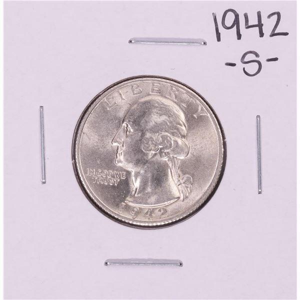 1942-S Washington Quarter Coin