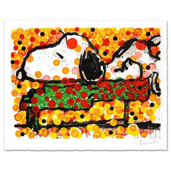 """Tom Everhart """"Play That Funky Music"""" Limited Edition Lithograph On Paper"""
