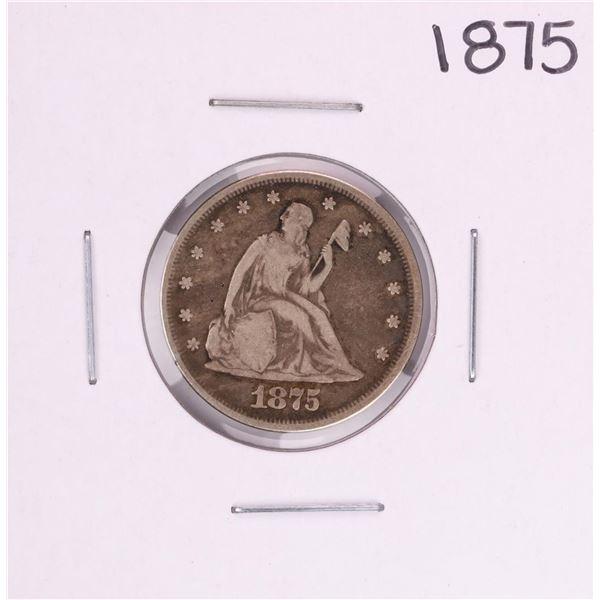 1875 Twenty Cent Piece Coin