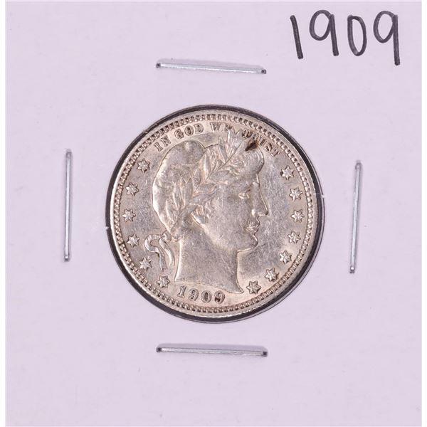 1909 Barber Quarter Coin