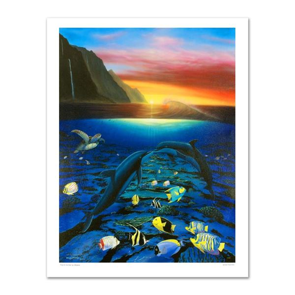 """Wyland """"Kiss For The Sea"""" Limited Edition Giclee On Canvas"""