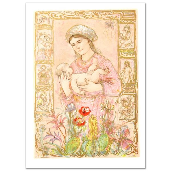 """Hibel (1917-2014) """"Racquela"""" Limited Edition Lithograph On Paper"""
