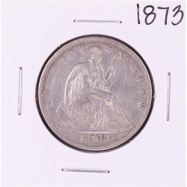1873 Seated Liberty Half Dollar Coin