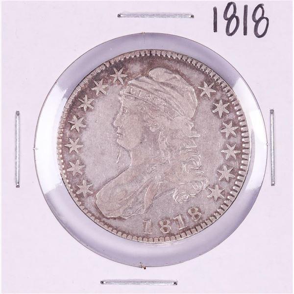 1818 Capped Bust Half Dollar Coin