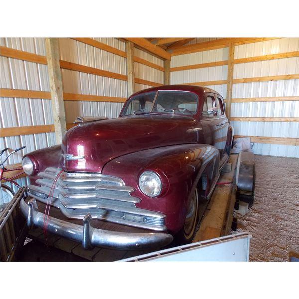 1947 Chevrolet Fleetmaster Sedan Four Door - Completely Restored 6 cylinder - SEE DESCRIPTION (trail