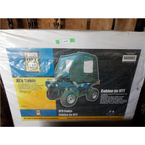 Power Fist ATV Cabin with straps, NEW sealed in box