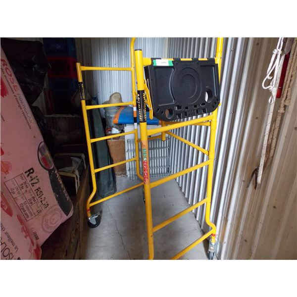 "Metaltech Portable Scaffolding Wheeled Unit 76"" High"