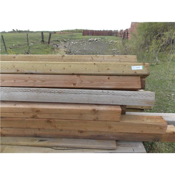 Quantity of Square Fence Posts