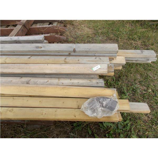 Quantity of Lumber Lengths