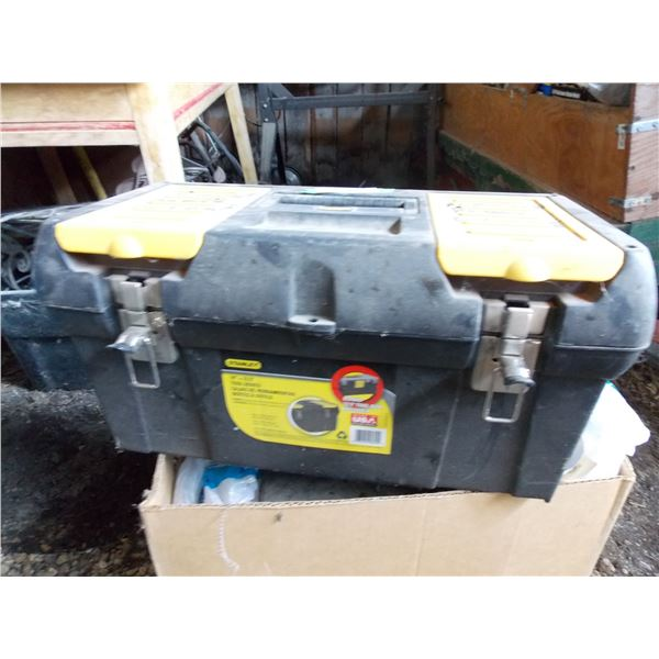 Stanley plastic toolbox with handle Full of Parts, etc.