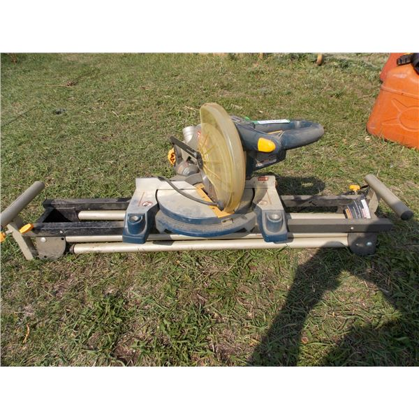 Ryobi Mitre Saw on Stand with safety Guard