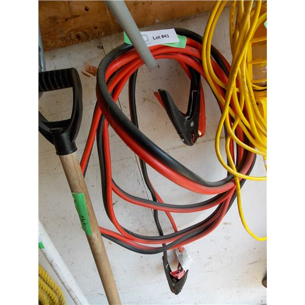 Pair of Booster Cables