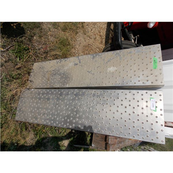 Pair of Stainless Ramp Parts 4' in length