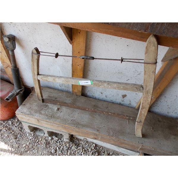 Vintage Wooden Buck Saw