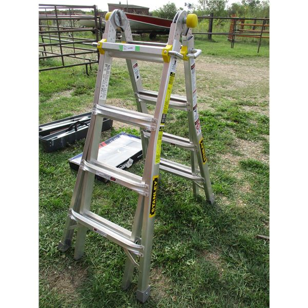 stanley extension ladder extends to 15ft