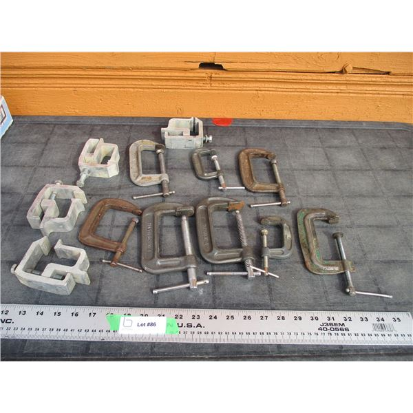 Clamps - various sizes