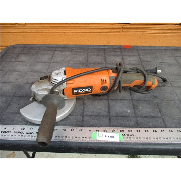 Rigid angle grinder (working)