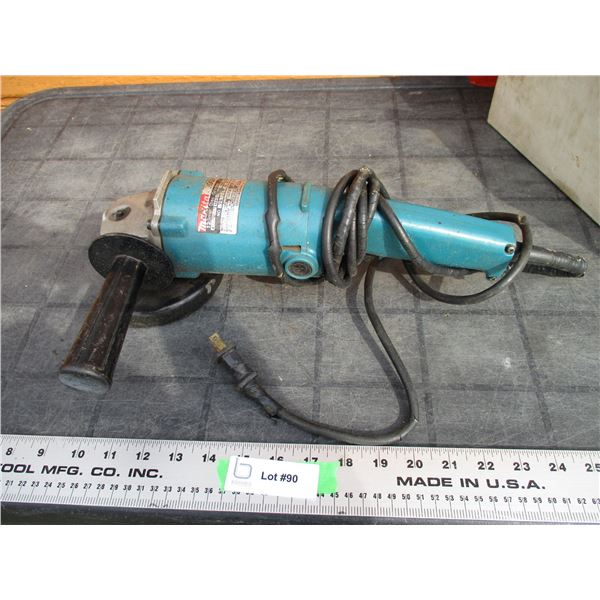 Makita angle grinder (cord is poor condition) - working