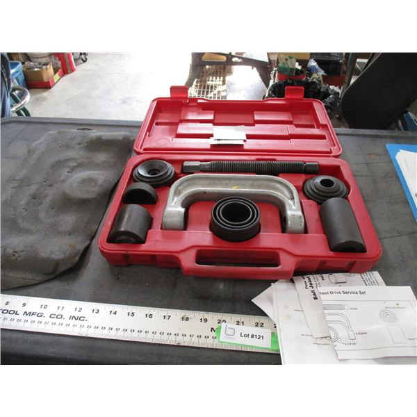 4WD Ball Joint service set in case