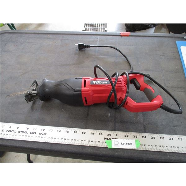 Hyper tough recriprocating saw (working)
