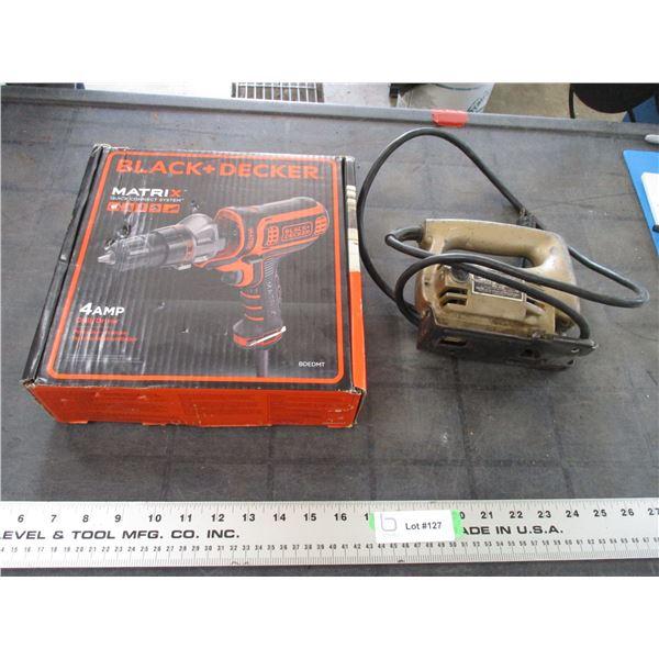 (new) Black n Decker 4amp Drill Driver, black n decker jigsaw