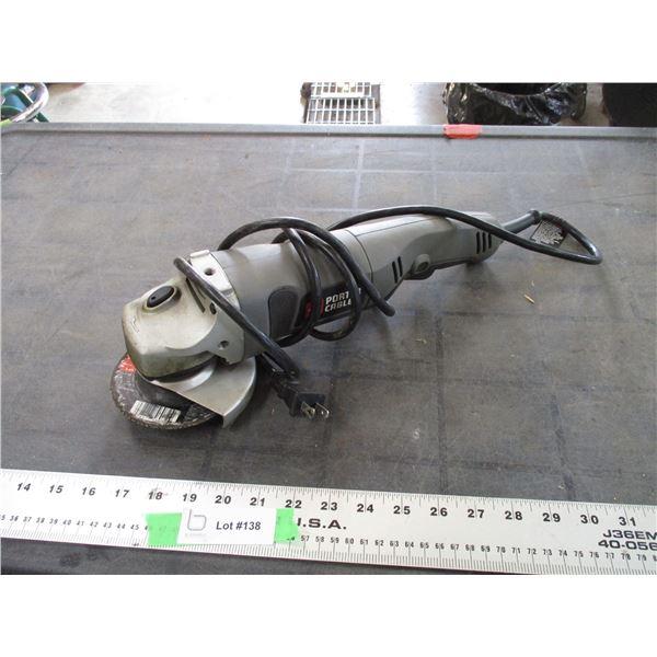 "Porter Cable 4.5"" grinder (working)"