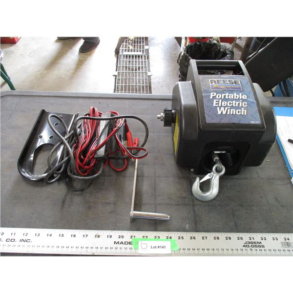 Reese tow power portable electric winch