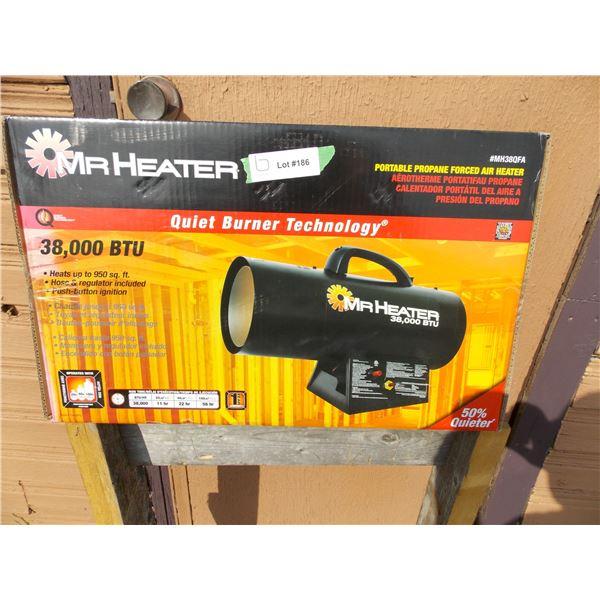 Mr Heater 38,000BTU Propane air heater NEW in box