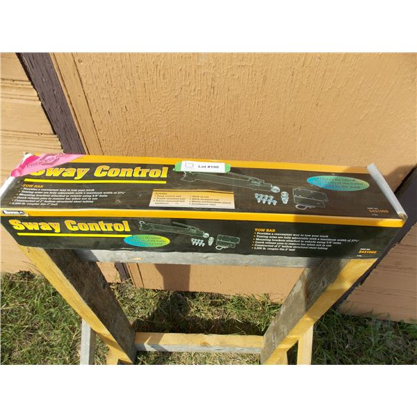 Buyers Sway Control Trailer Tow Bar NEW in box