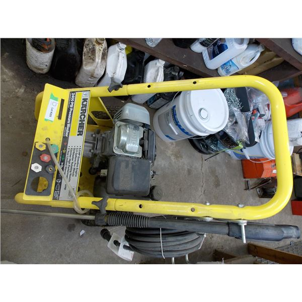 Karcher 2400 PSI Pressure Washer with 5HP Honda Gasoline Engine and Wand/Hoses