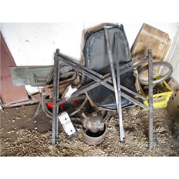 Tractor Seat, Hydraulic Cylinder, Misc