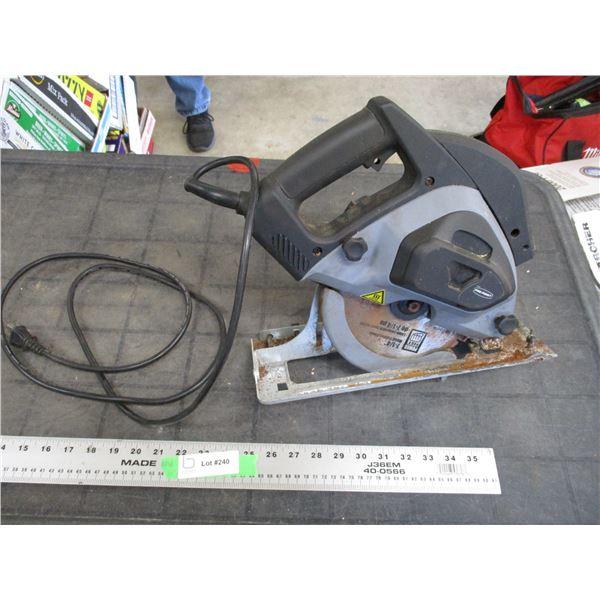 "Pro point 7 1/4"" metal cutting circular saw (working)"