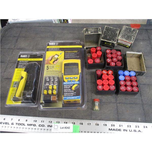 KLEIN VDV Scout Pro 2 Tester Kit , Compression crimper, + Direct inline oil filters