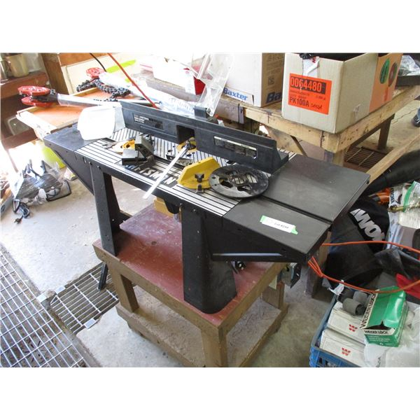 craftsman router table + stand plus accessories