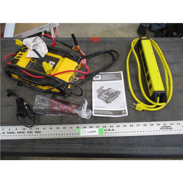 Cat 1000W Power inverter with USB Charging Post + power bar