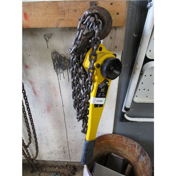 Powerfist 2ton chain hoist