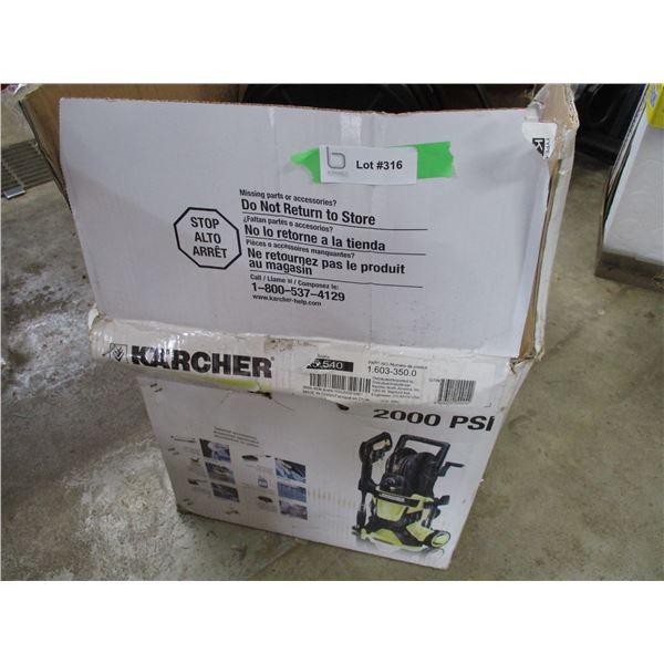 Karcher 2000PSI new pressure washer