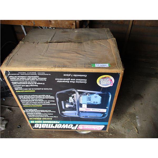 Coleman Powermate 5000 (New in box)