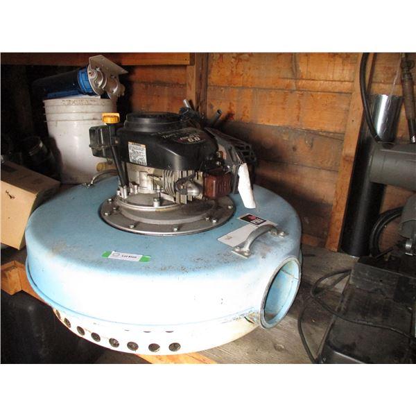 Swamp floatation water pump