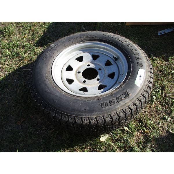 Spare Tire Load Star 175-80 5 bolt rim