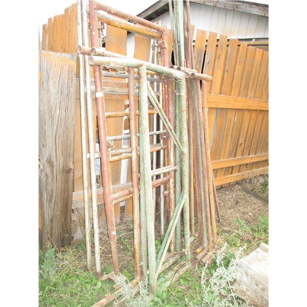 metal scaffolds
