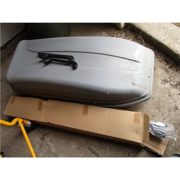 Hyundai santa fe storage carrierwith roof nails